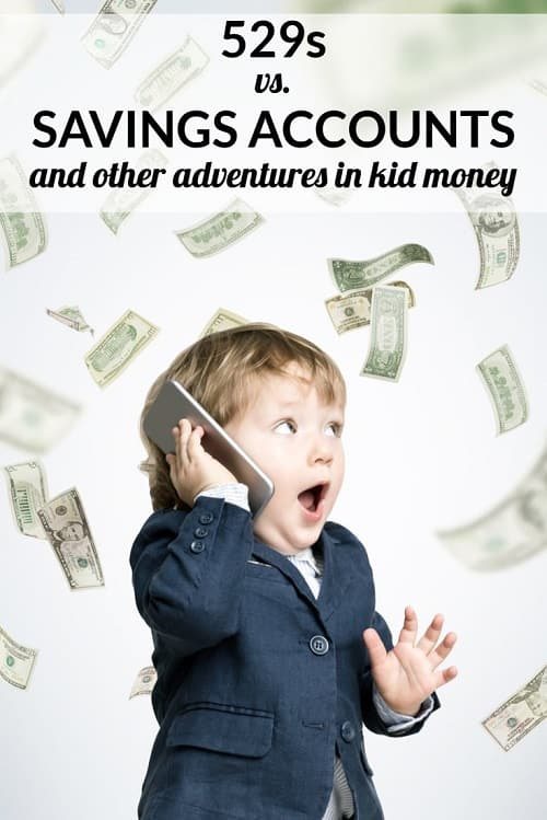 Curious about the difference between a 529 account, a savings account, and other options for saving money for your kids (for college or otherwise)? Great discussion with the readers with lots of 529 tips...