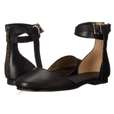 Ankle Strap Flats: Frye Carson Knotted Ballet Flat