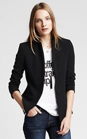 BR One Button Soft Blazer