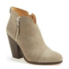 Beige Rounded Toe Bootie: Rag & Bone 'Margot' Bootie