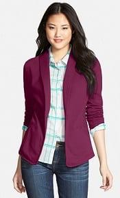 Caslon Shawl Collar Knit Blazer
