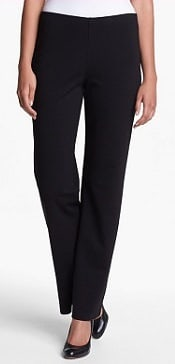 Eileen Fisher Straight Leg Ponte Pants