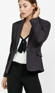machine washable tweed blazer from Express