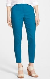 Halogen 'Taylor' Linen Blend Ankle Pants | CorporetteMoms