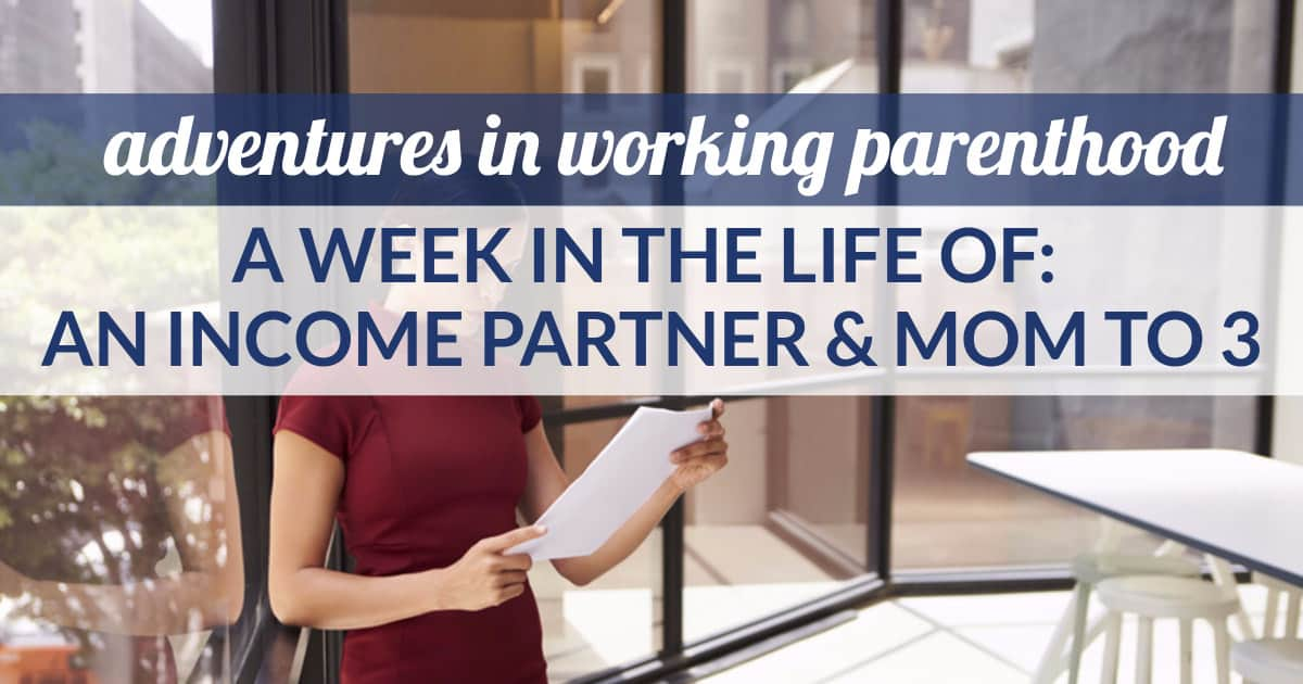 income partner mom to 3
