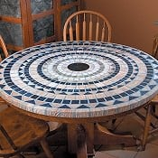 Improvements Mediterranean Stone-Look Table Covers | CorporetteMoms