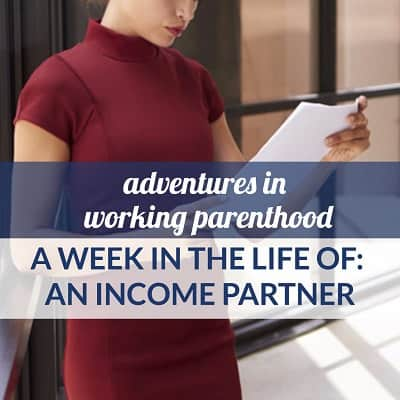 A Week in the Life of a Working Mom: Income Partner in Boston