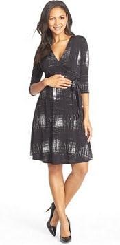Leota 'Perfect Wrap' Maternity Dress   CorporetteMoms