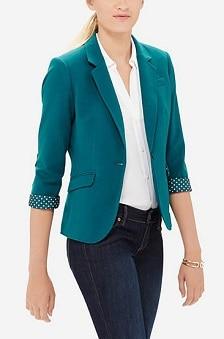 Limited Soft Topstitched Jacket | CorporetteMoms