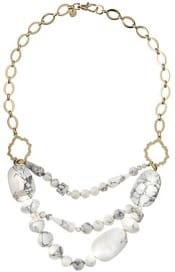 Lydell Triple Layer Beaded Necklace