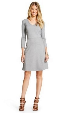 Merona™ Ponte Fit and Flare Dress | CorporetteMoms