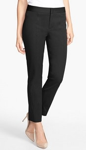 NYDJ Two-Way Stretch Ankle Straight Leg Pants | CorporetteMoms