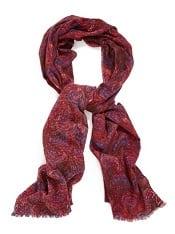 Nordstrom 'Peacock Tissue' Wool Cashmere Blend Wrap | Corporette