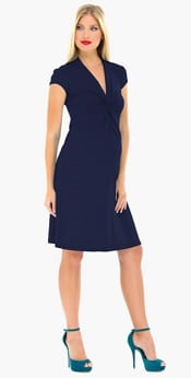 Olian Maternity Wrap Dress | CorporetteMoms