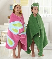 Pottery Barn Kids Animal Bath Wraps | CorporetteMoms