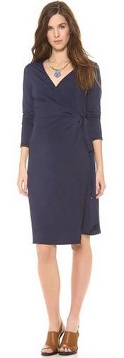 Rosie Pope Jersey Wrap Dress | CorporetteMoms