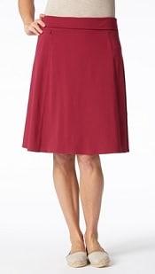 Royal Robbins Essential Rollover Skirt | CorporetteMoms
