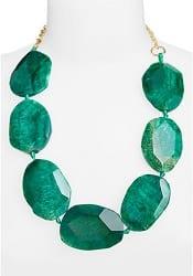 Sequin Stone Collar Necklace | CorporetteMoms