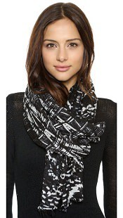 Spun Scarves by Subtle Luxury Bamboo Scarf