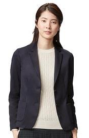 Uniqlo Soft Jersey Jacket | CorporetteMoms