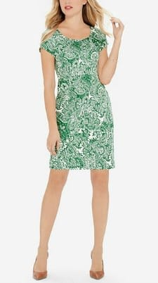 Washable Dress for Work: The Limited Silky Printed Dress