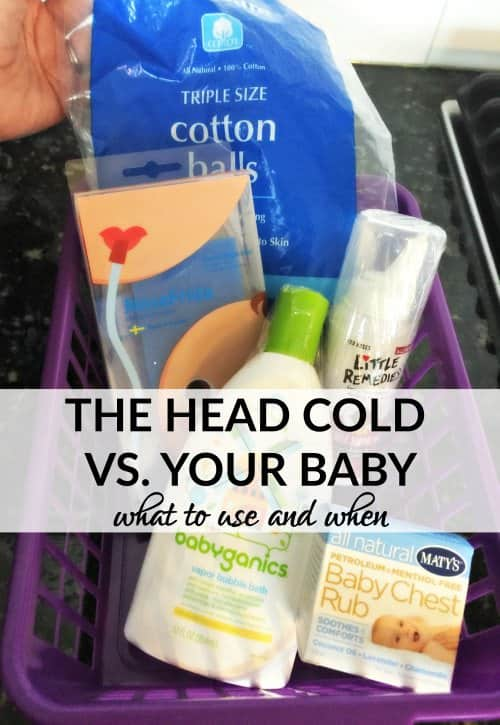 baby head cold tips