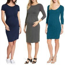 the best maternity dresses for work