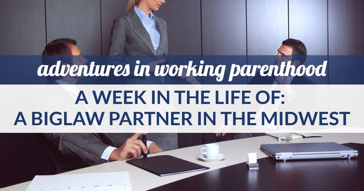 biglaw partner work-life balance - image of a business woman