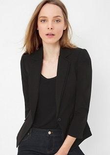 Washable Blazer: White House   Black Market Bracelet-Sleeve Seasonless Blazer