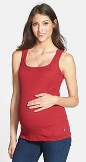 bun maternity nursing tank