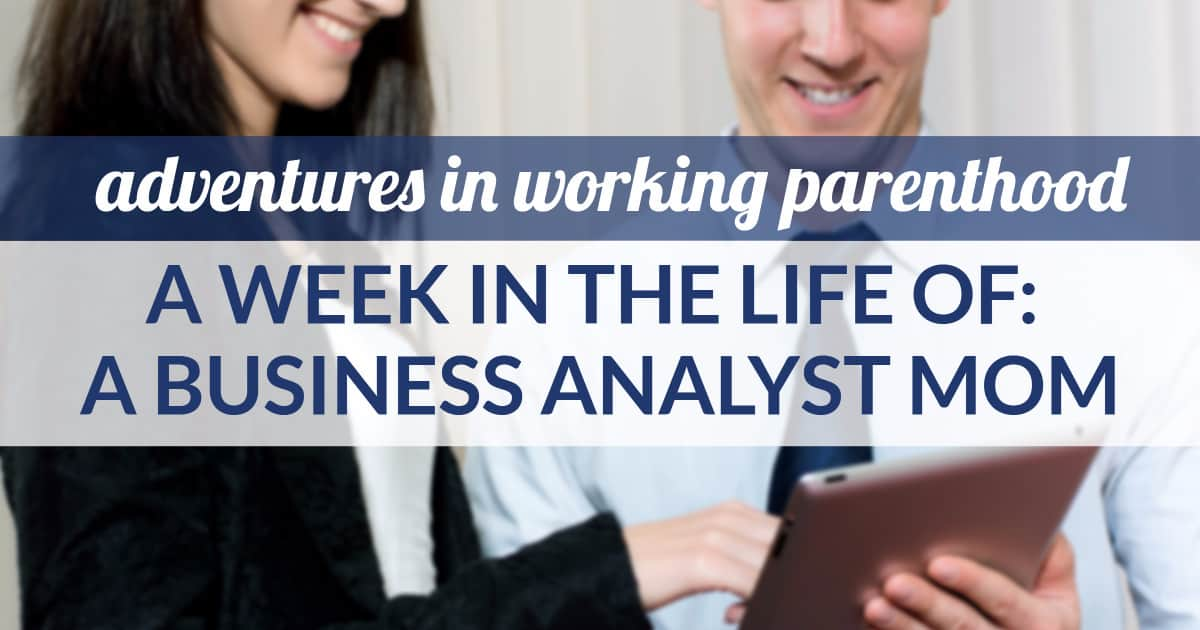 business analyst mom midwest