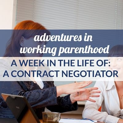 Week in the Life of a Working Mom: Contract Negotiator in the Midwest