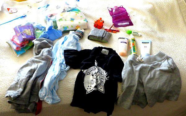 diaper bag stocked