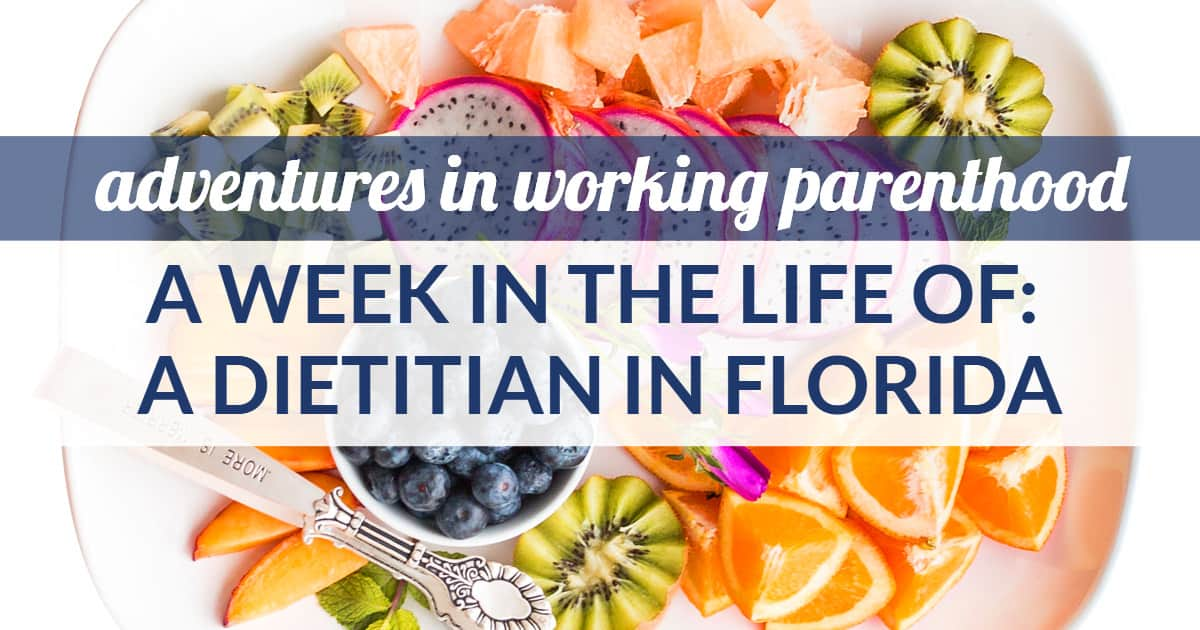 dietitian mom work-life balance