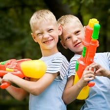 Do You Let Your Kids Play With Water Guns and Other Toy Weapons: A Discussion with Working Moms