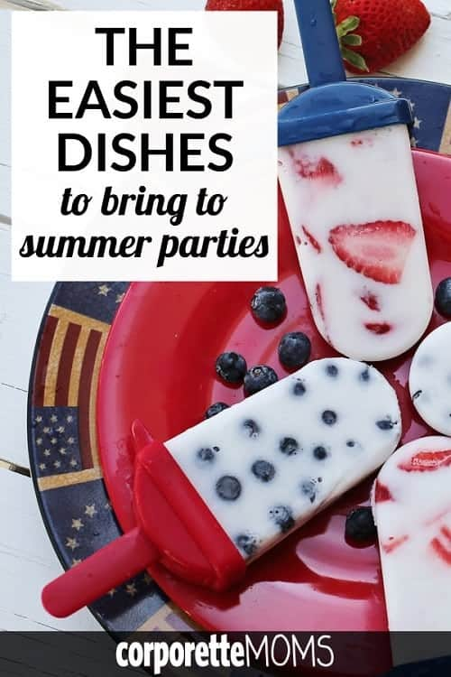 Looking for easy dishes to bring to summer parties, or trying to find the best dishes for working moms to bring to summer parties? We've got some ideas for you...