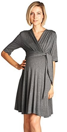 gray-maternity-dress