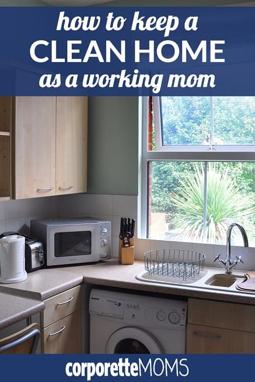 Working moms discuss how they try to keep a clean home despite a hefty work-life juggle -- come share your best tips for keeping a clean home as a working mother!
