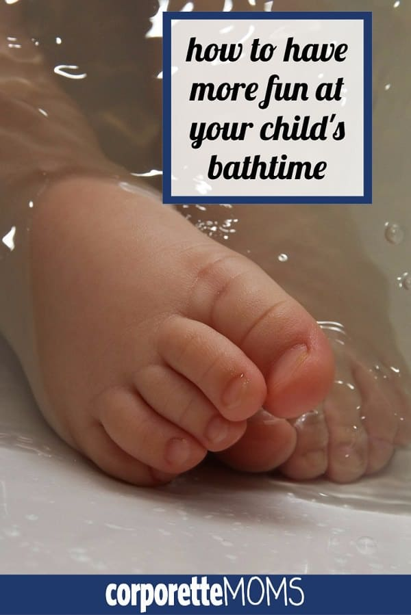 How to make bathtime easier -- if you dread your child's bathtime (the water! the mess!) we rounded up 10 ideas from working moms for how to have more fun at your child's bathtime.