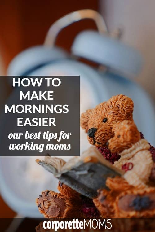If you're a working mom, you know that mornings can be TORTURE -- how to get everyone dressed, packed, and out of the house? Sheryl Sandberg famously admired one mom's advice of putting her kids to sleep in their school clothes -- so we rounded up other tips for working moms. How CAN you make mornings easier?