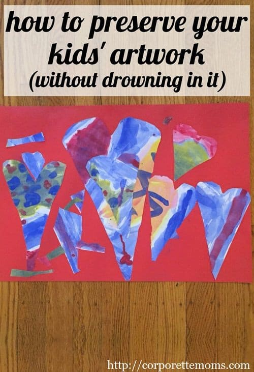 We rounded up the best tips for preserving kids' artwork -- without keeping absolutely everything and drowning in it! Artwork, worksheets, school papers, and more -- how do you deal with the clutter while honoring the work your child put into it? Working moms discuss their methods for how to preserve their kids' artwork.