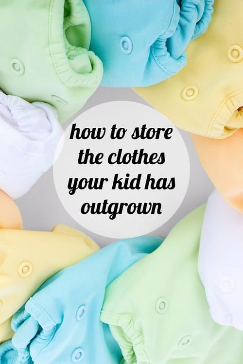 What are the best tips for how to store the clothes your kid has outgrown? Whether you've got a baby, toddler, or a Big Kid, holding onto future hand-me-downs or just keeping clothes for sentimental reasons, what are your best tips for storing too-small kids' clothes?