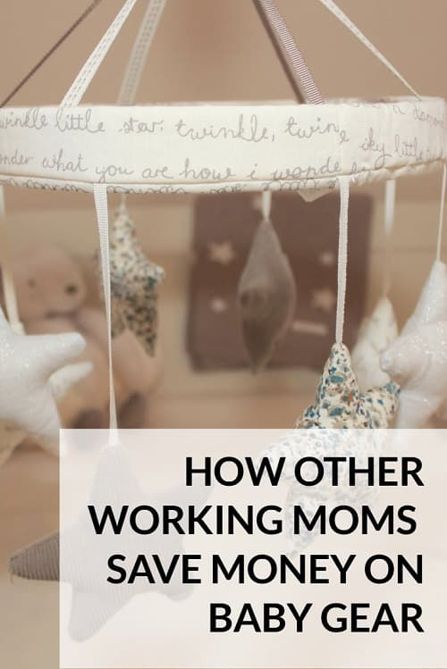 How working moms can save money on baby gear   CorporetteMoms