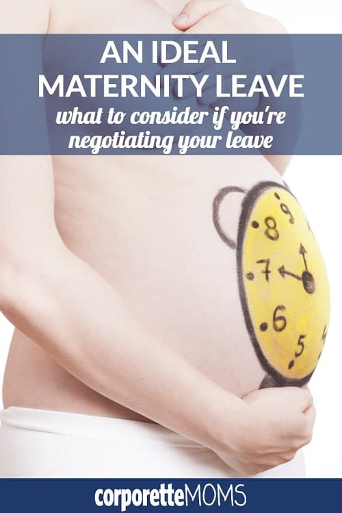 What does an ideal maternity leave look like? If you're negotiating your own leave, the first in your law firm to take a leave, or otherwise planning the details of your own leave from work, this is a great discussion with working moms about what you should consider.