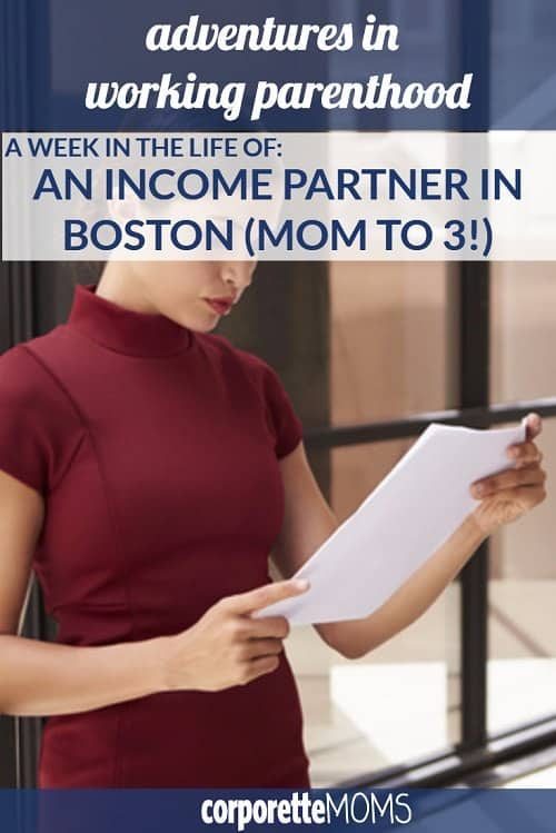 An income partner and mom to 3 shares her work-life juggle and her tips, including why she and her husband choose to live in a far suburb, how she often works from home as a law firm partner, and more of her Boston lifestyle.