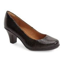 Low Heel for Work: Söfft 'Velma' Leather Pump
