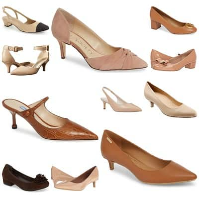 The Hunt: Low Nude Pumps for Work