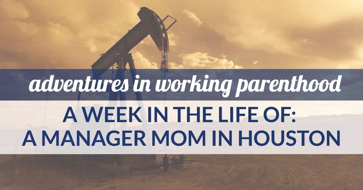An IT portfolio manager mom in Houston share a week in her life.