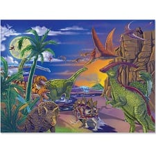 a 60 piece jigsaw puzzle -- perfect for my 6 year old!