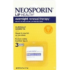 Lil' One Tuesday: Neosporin Lip Health Overnight Renewal Therapy
